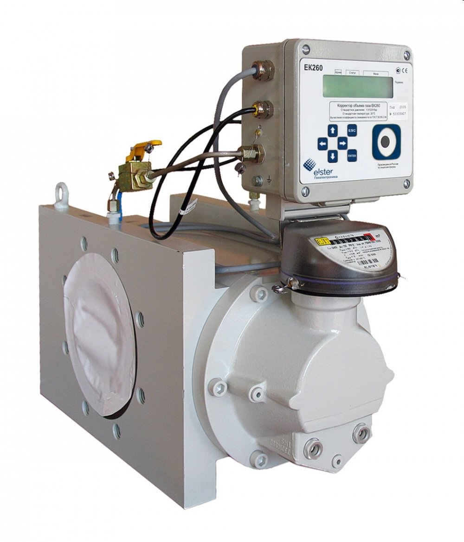 Комплекс для измерения количества газа СГ-ЭК-Т2-400/1,6 TRZ G250