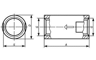 Клапан КТЗ-32 внутр/внутр.